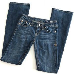 Miss Me Jeans JP4896D Boot Sz 26